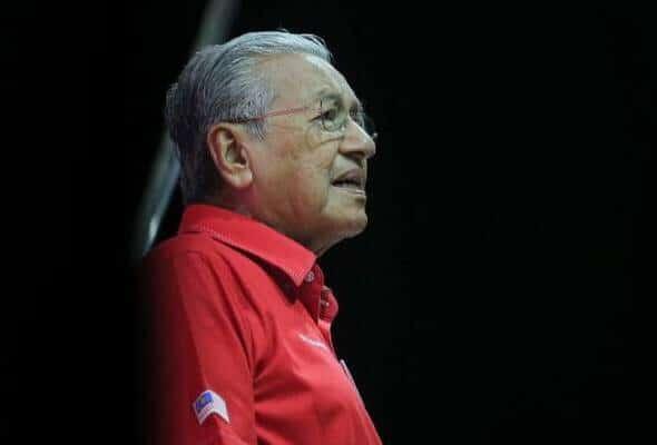 Tun M Tinggalkan Mesyuarat Sejurus Cadangan Muhyidin PM