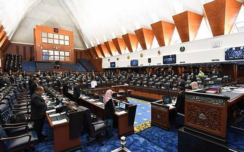 Gempar !!! Hanya 13 ahli parlimen bangun desak pengundian belah bahagi belanjawan
