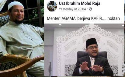 Menteri Agama berjiwa kafir: Penceramah bebas minta maaf, tarik balik