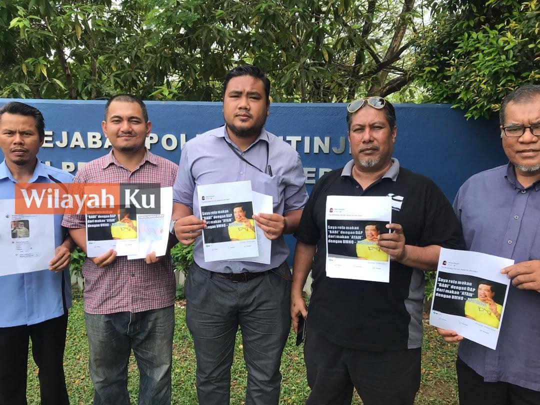 Fitnah Mat Sabu: Ketua Pemuda Amanah buat laporan polis gesa siasat pemilik akaun Facebook