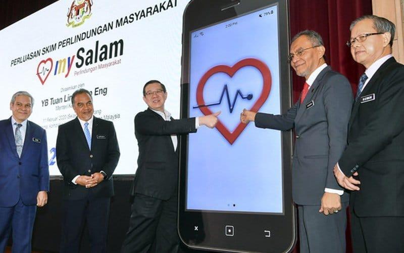 mySalam : 'talian hayat' kesihatan rakyat