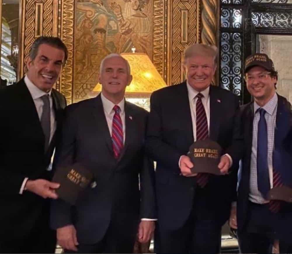 Trump Turut Berada Dalam Majlis Bersama Pegawai Brazil Yang Positif Coronavirus