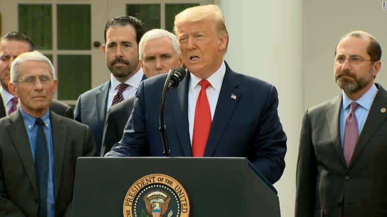 COVID-19 : Trump Umum Darurat Seluruh Amerika