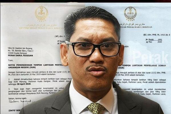 MB Perak pilih utamakan Umno dan ketepikan parti sendiri?