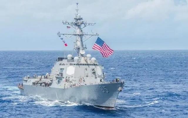 Kapal perang Amerika dan China di perairan Malaysia, PN tengok saja?