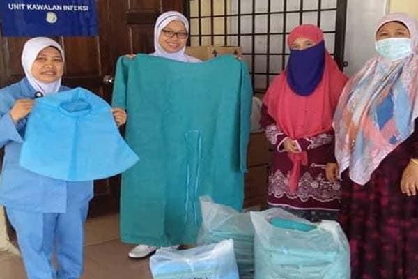 AWAN Kuala Langat serah kelengkapan PPE untuk Hospital Banting