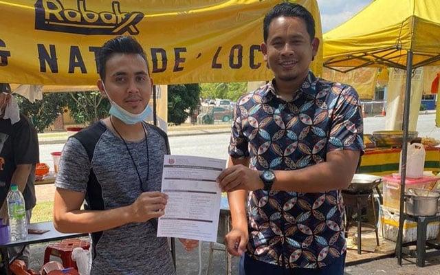 Ahli Majlis bantu penjaja muda dapatkan lesen MBSA