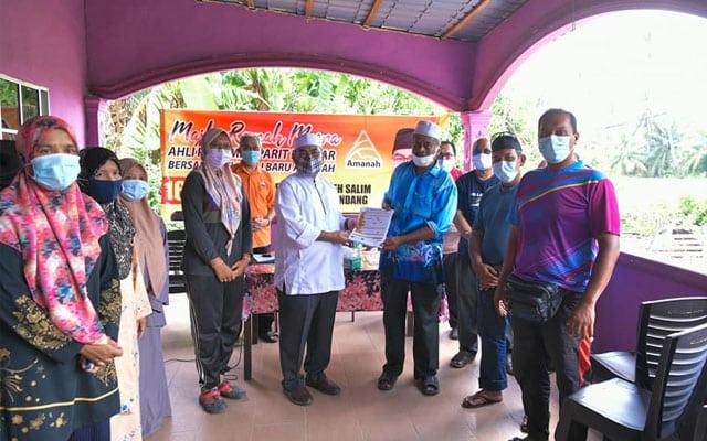 Mujahid terima kemasukan 100 penduduk sertai AMANAH di DUN Kuala Kurau