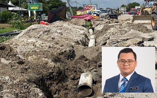 400km paip usang di Selangor telah diganti