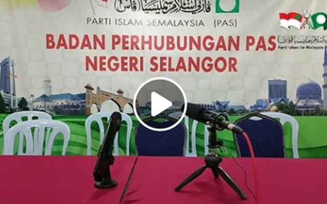 Live FB pemimpin Amanah masuk Pas jadi live tayang microphone