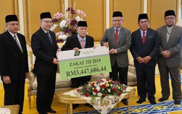 Jumlah zakat Tabung Haji meningkat, serah lebih RM3.4 juta kepada Pulau Pinang