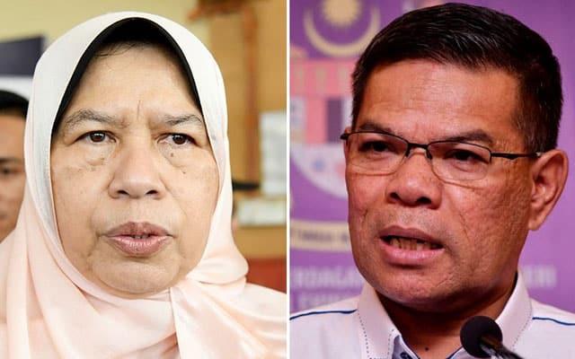Dakwaan bersifat fitnah, Saifuddin Nasution saman Zuraida