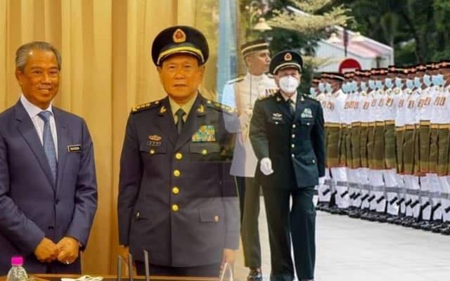 Muhyiddin sambut kehadiran Menteri Pertahanan China, bincang kerjasama dua hala