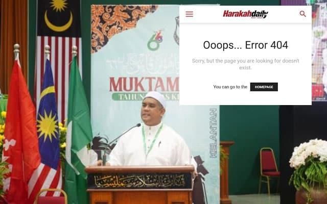 Harakahdaily padam berita lagi, kali ini berkaitan anugerah Dato pula