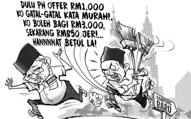 Orang Kg Bharu sudah kena main dengan PN, tawaran PH tetap terbaik
