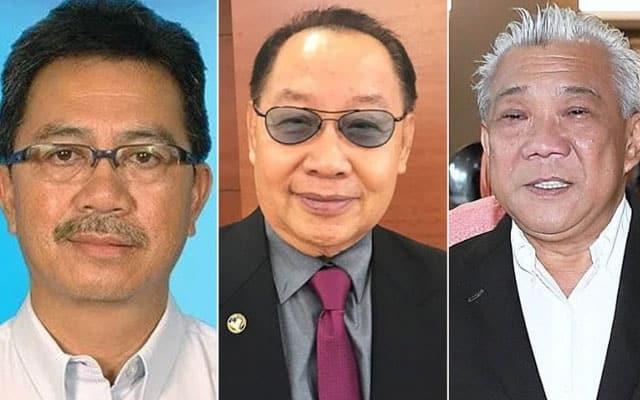 Ketua-ketua parti GRS dilantik Timb Ketua Menteri Sabah