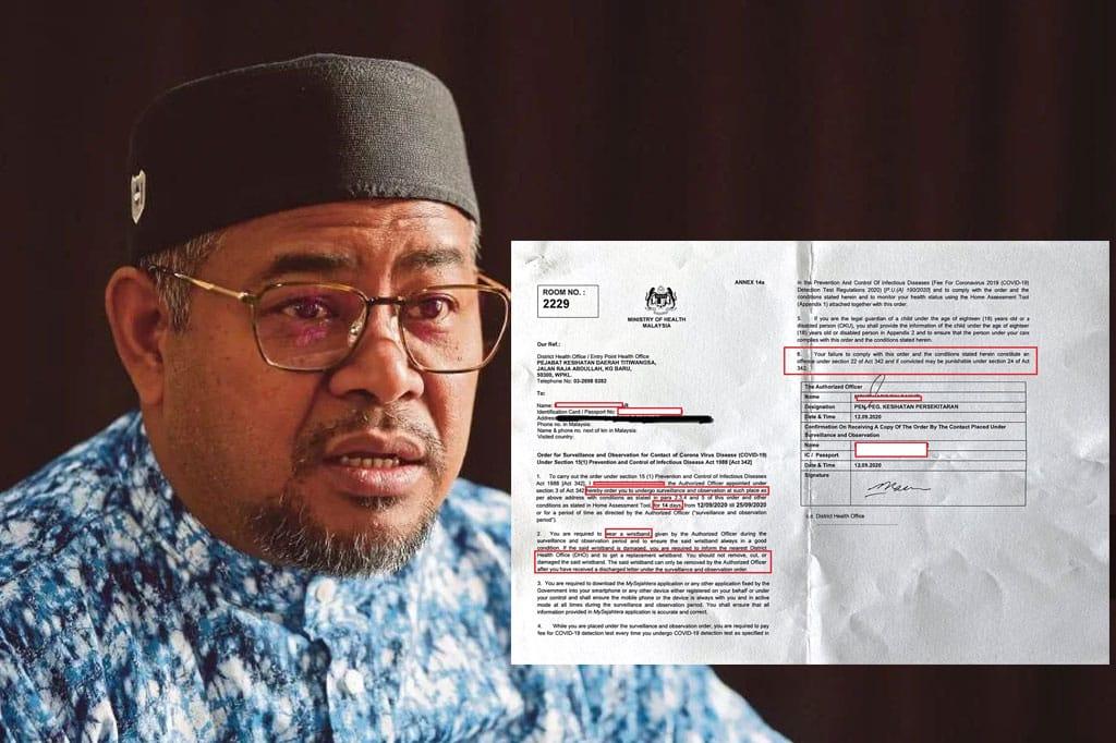 Kes Khairuddin : Netizen persoal kenapa borang 14(b) bukannya borang 14(a)?