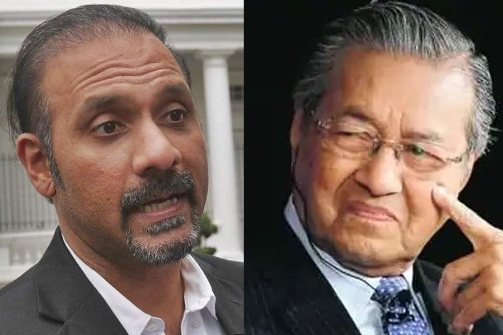 """""""Mahathir lah punca apa yang berlaku hari ini"""", bidas ahli parlimen DAP"""