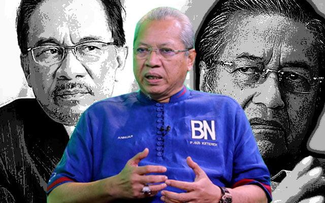 Ketika pertembungan Anwar-Mahathir memuncak, Annuar Musa cadang 'Grand Coalition'