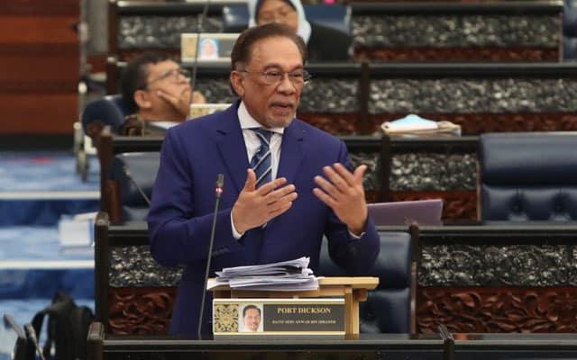 Gempar !!! Anwar dakwa Menteri Kewangan melakukan penipuan dalam bentuk angka