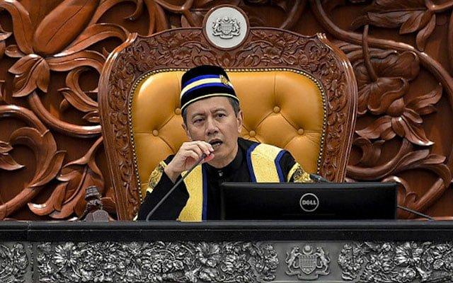 """Panas !!! Pertikai keputusan speaker berhubung isu """"DG takut mati"""", MP digantung 5 hari"""