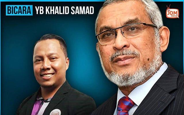 LIVE !!! Khalid Samad kupas apa yang berlaku di parlimen siang tadi