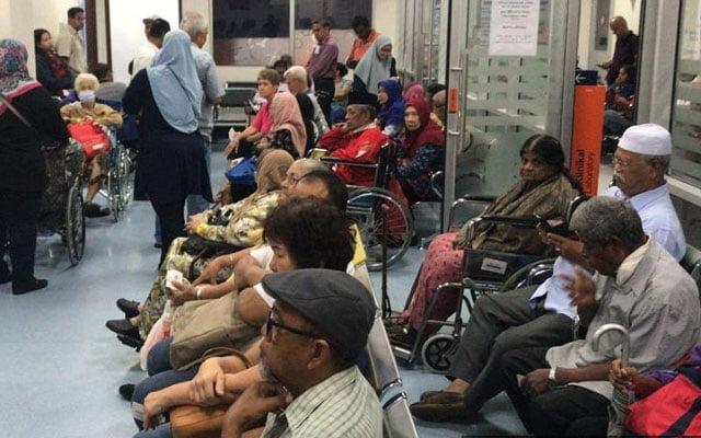 Pesakit klinik swasta merosot 70%, rakyat pergi hospital dan klinik k'jaan