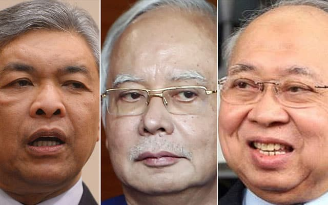 Gempar !!! Najib, Zahid dan Ku Li tidak hadir undian belah bahagi bajet JPM