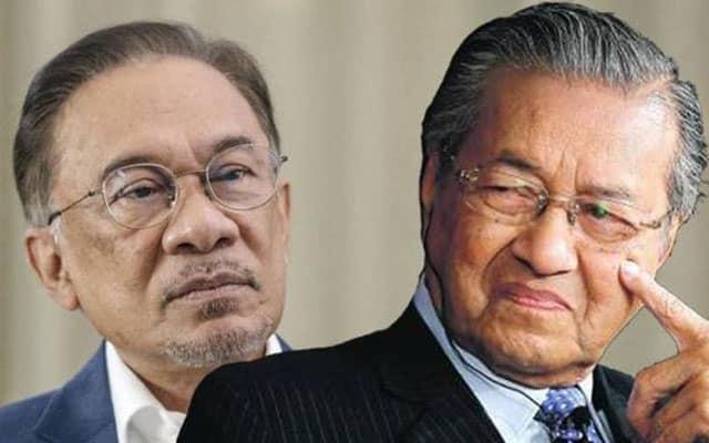 Nampaknya Mahathir masih terus salahkan Anwar