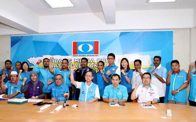 Usul percaya MB Perak : Adun PKR sepakat tolak