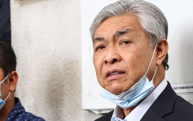 Zahid minta maaf kepada Bersatu dan Pas atas tindakan adun Umno di Perak