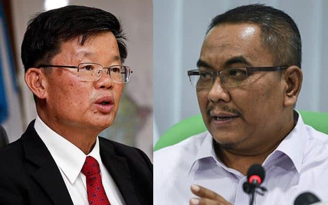 Gempar !!! Sanusi sahkan air diekstrak P.Pinang bukan diambil dalam sempadan Kedah