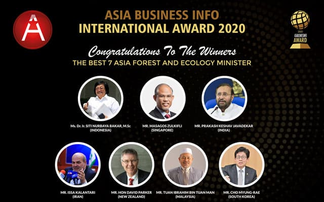 Tuan Ibrahim disenarai 7 menteri ekologi terbaik oleh majalah berpusat di Makassar