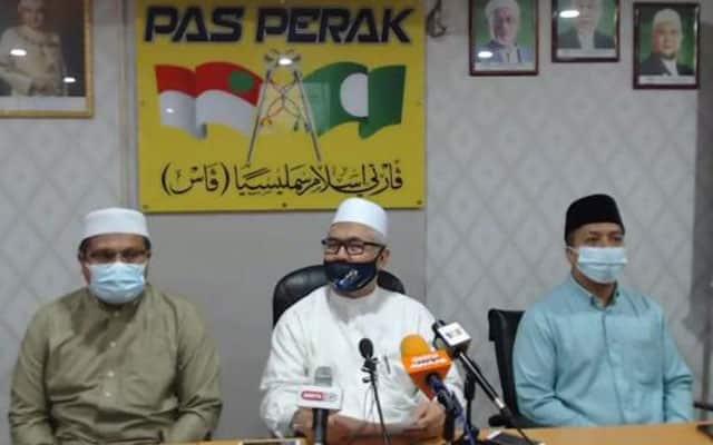 Gempar !!! Tiga Adun PAS mohon ampun pada Sultan Perak