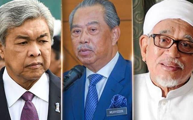 Terkini!! Muhyiddin, Zahid, Hadi mesyuarat tergempar pemilihan MB Perak