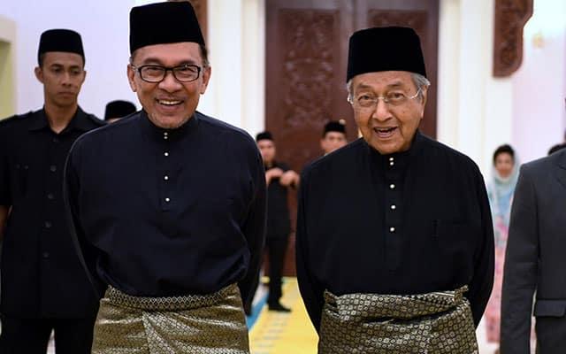 Mahathir akur sekiranya Anwar jadi Perdana Menteri