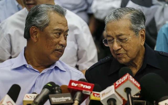 Letak jawatan lah Muhyiddin, kata Mahathir