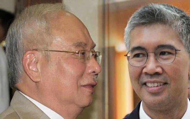 Panas !!! Najib cabar Zafrul namakan negara yang gantung parlimen kerana Covid-19