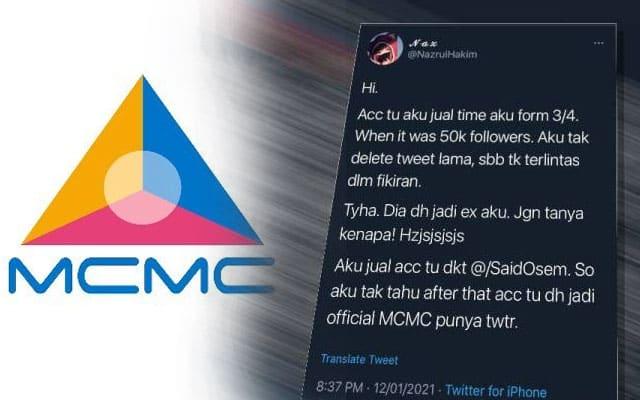Setelah dikantoikan netizen kerana 'beli' akaun twitter  remaja, pelbagai pihak persoal SKMM