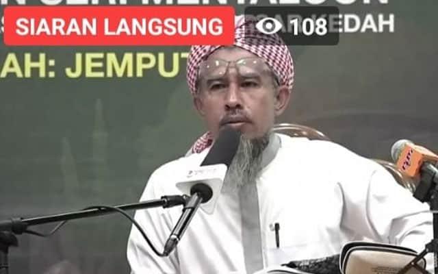 """""""Inilah kali pertama Menteri Agama adalah ulama"""", dakwa Ketua Ulama Pas Kedah"""