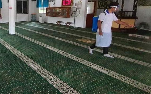 Covid-19 : Kluster Jalan Badak kerana hadiri ceramah agama di masjid