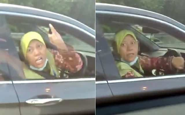 Wanita tular buat laporan polis, dakwa lelaki tersebut memandu dengan berbahaya dan keluar kata kesat