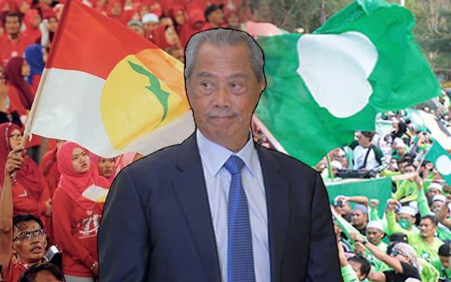 Penyokong Umno mahu PRU segera, penyokong Pas mahu Muyiddin kekal terajui negara