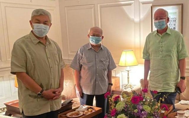 Zahid, Ku Li dan Najib adakan pertemuan khas…