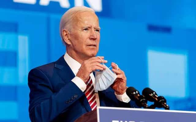 Presiden Amerika umum tak perlu pakai pelitup muka selepas divaksin