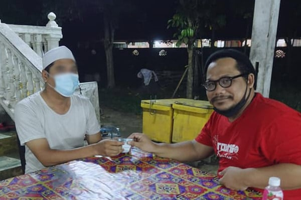 Mulianya hati abang colek yang kena kompaun RM50k