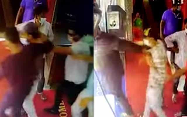 Pengurus restoran didakwa setelah tular video lakukan kekerasan terhadap warga India