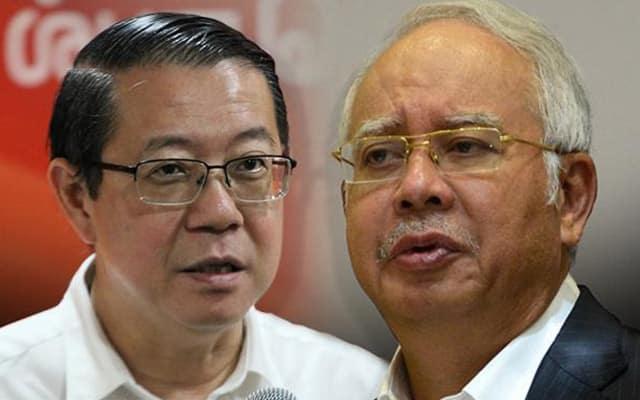 Guna dana KWAN : Najib dan Guan Eng bidas Zafrul