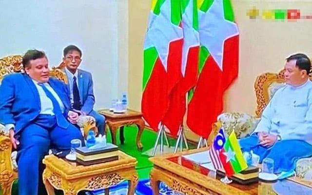 Duta Malaysia ke Myanmar adakan pertemuan dengan menteri junta undang kritikan