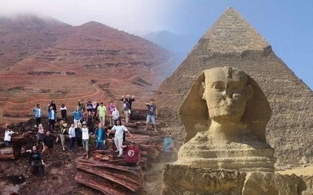 Gempar !!! Piramid dijumpai di Kelantan…